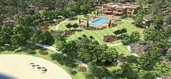 300 odalı 'yazlık saray'ının görselleri ortaya çıktı