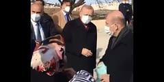Yaşlı kadın Erdoğan'a seslendi: Açım açım
