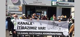 Ya Kanal Ya İstanbul Koordinasyonu imar planlarına itiraz etti