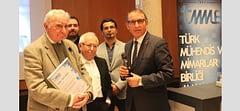 Prof. Dr. Doğan Kuban'a Jean Tschumi Mimari Yazın Ödülü
