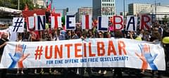Unteilbar, 14 Haziran'da sokaklarda