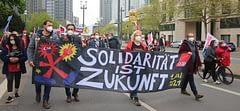 Frankfurt'ta dev 1 Mayıs kutlaması