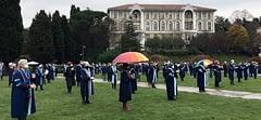 Boğaziçi'nde akademisyenlerin nöbeti 30. gününde, İTÜ'de dayanışma eylemi